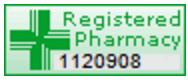 GPhC Registered Pharmacy Badge
