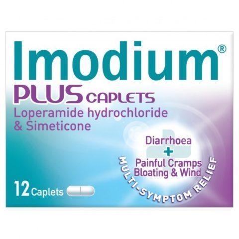 Imodium Plus Caplets