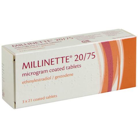 Millinette Tablets (20 & 30)