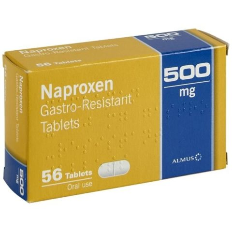 Available Online - Naproxen Gastro-Resistant Tablets (250mg & 500mg)