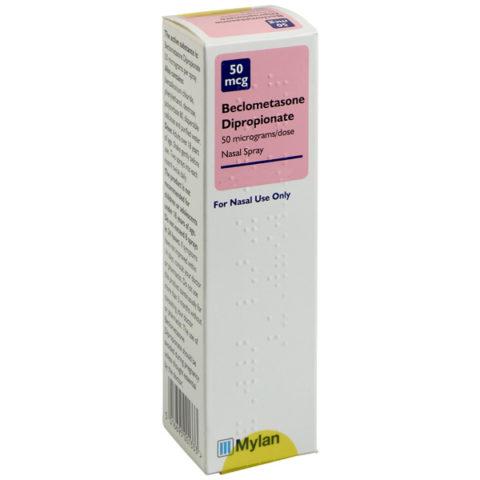Beclometasone 50mcg Nasal Spray