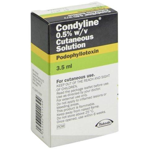 Buy Condyline 0.5% Solution