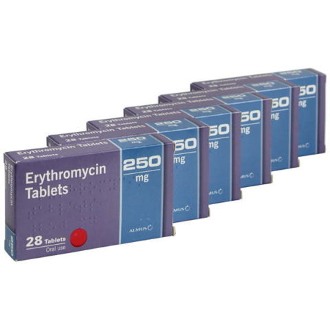 Erythromycin 250mg Tablets