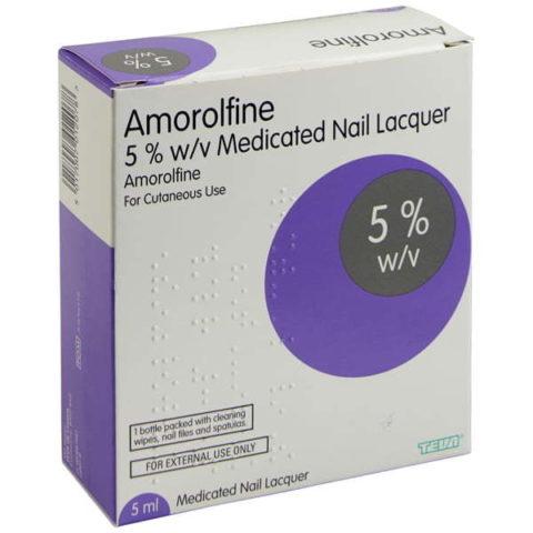 Amorolfine 5% Nail Lacquer