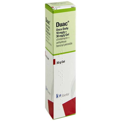 Duac Gel Acne Treatment