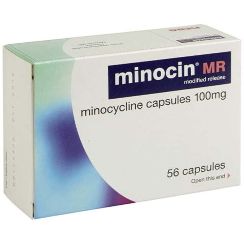Minocin 100mg MR Capsules