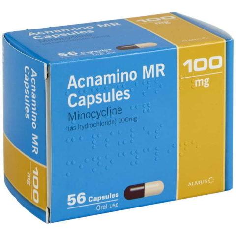 Minocycline 100mg MR Capsules