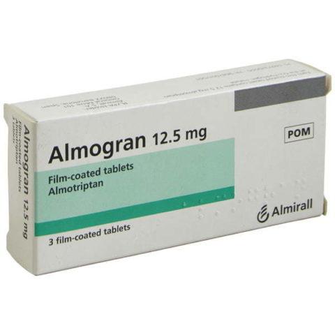 Almogran 12.5mg Tablets