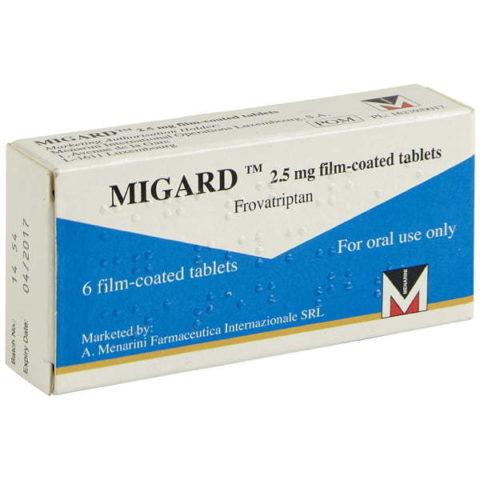 Migard 2.5mg Tablets
