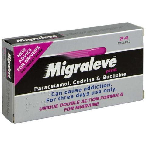 Migraleve Pink Tablets