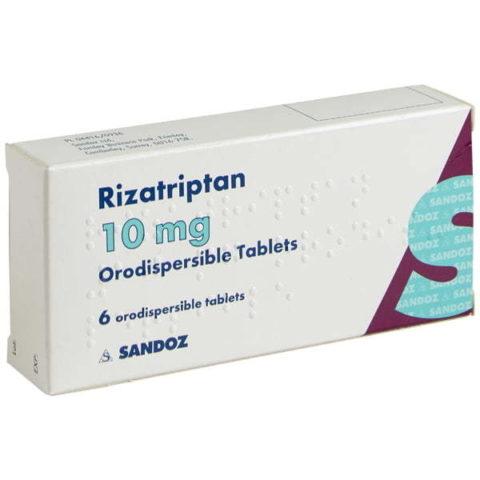 Rizatriptan 10mg Orodispersible Tablets