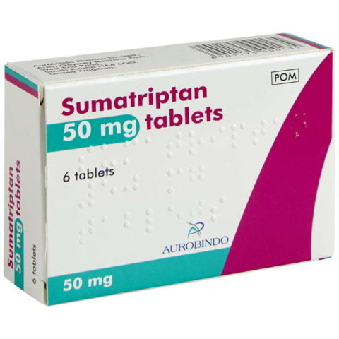 Sumatriptan Tablets (50mg & 100mg)