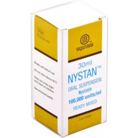 Nystan (Nystatin) Oral Suspension