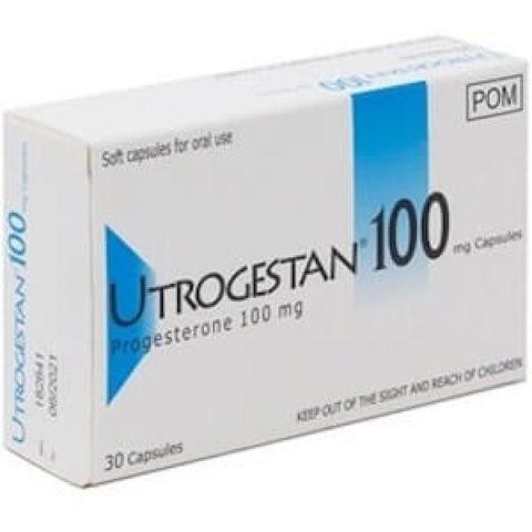 Utrogestan 100mg capsules