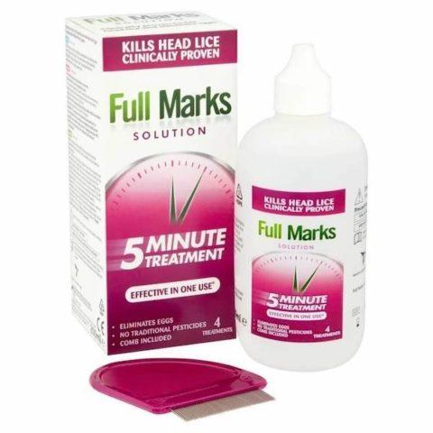 Full Marks Head Lice Solution