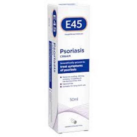 E45 Psoriasis Cream