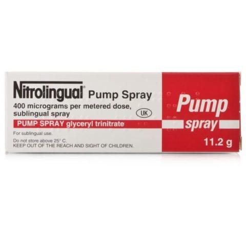Nitrolingual (GTN) Spray