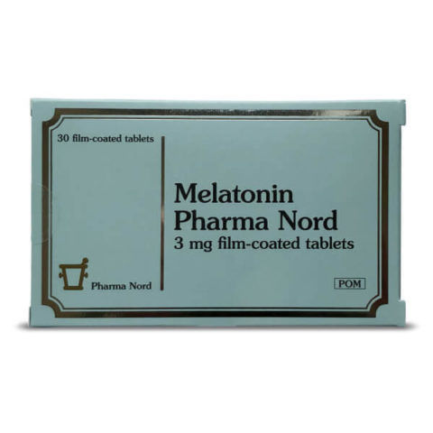 Melatonin 3mg tablets (Pharma Nord)