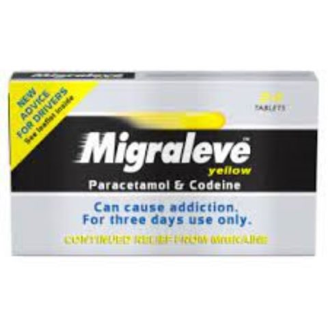 Migraleve Yellow Tablets