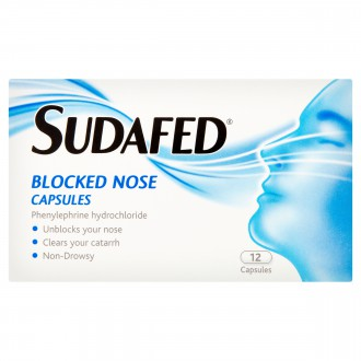 Buy Sudafed Blocked Nose Capsules online