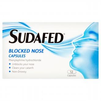 Buy Sudafed Blocked Nose Capsules online
