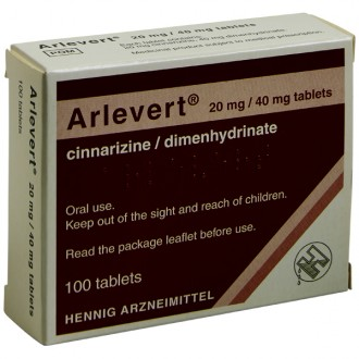 Arlevert 20/40mg Tablets