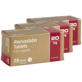 Atorvastatin 20mg Tablets