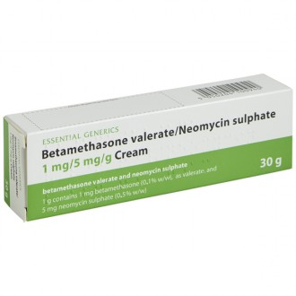 Betamethasone with Neomycin Cream