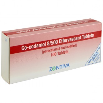 Co-Codamol 8/500mg Soluble Tablets