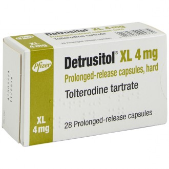 Buy Detrusitol XL 4mg Capsules online