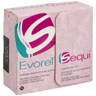 Buy Evorel Sequi Patches online