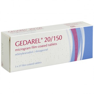 Gedarel 20/150 Tablets