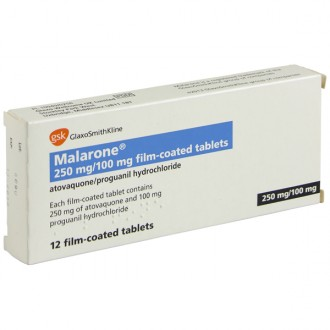 Malarone 250mg/100mg Tablets