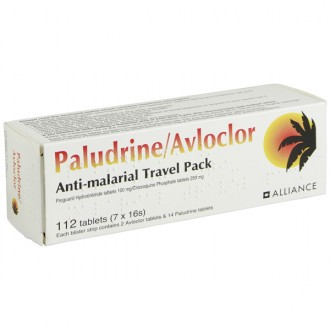 Buy Paludrine/Avloclor Travel Pack 250mg/100mg Tablets online