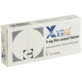 Xyzal 5mg Tablets