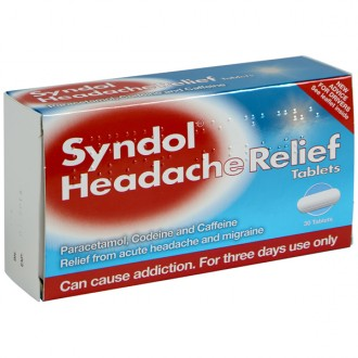 Buy Syndol Headache Relief Tablets online