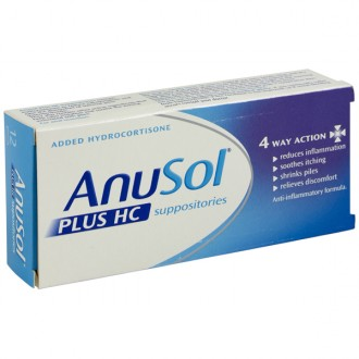 Buy Anusol Plus HC Suppositories online