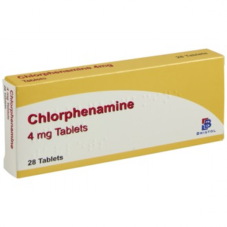 Buy Chlorphenamine Tablets & Solution online