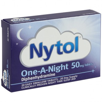 Nytol One-A-Night 50mg Caplets