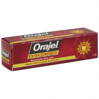 Orajel Extra Strength Toothache Gel