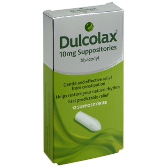 Dulcolax 10mg Suppositories