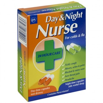 Buy Day & Night Nurse Capsules online