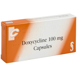 Doxycycline 100mg Capsules