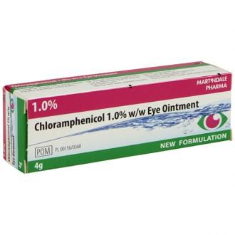 Buy Chloramphenicol 1% Eye Ointment Online - Eye Infections