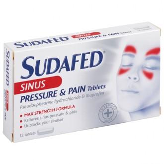 Sudafed Sinus Pressure & Pain Tablets - Buy Online UK