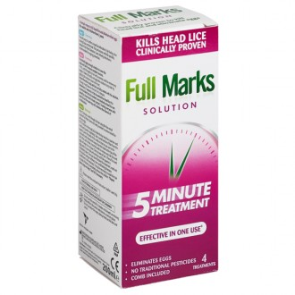Buy Full Marks Head Lice Solution online