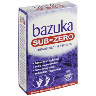 Buy Bazuka Sub-Zero Freeze Treatment online