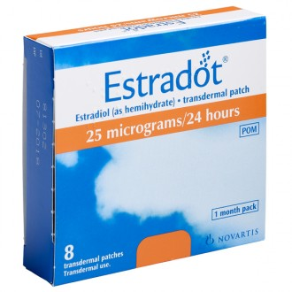 Estradot 25 Patches