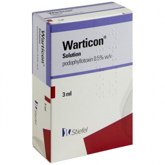 Warticon Wart Treatment Solution (Podophyllotoxin)