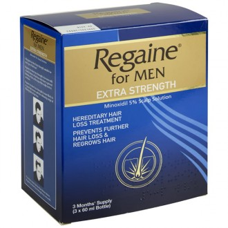 Regaine Extra Strength Solution (Three Months)
